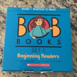 BOB Books set 1 for Beginning Readers